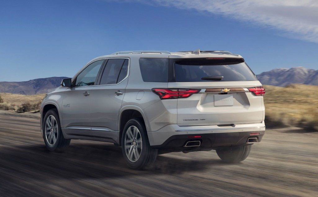 2021 Chevrolet Traverse High Country Specs