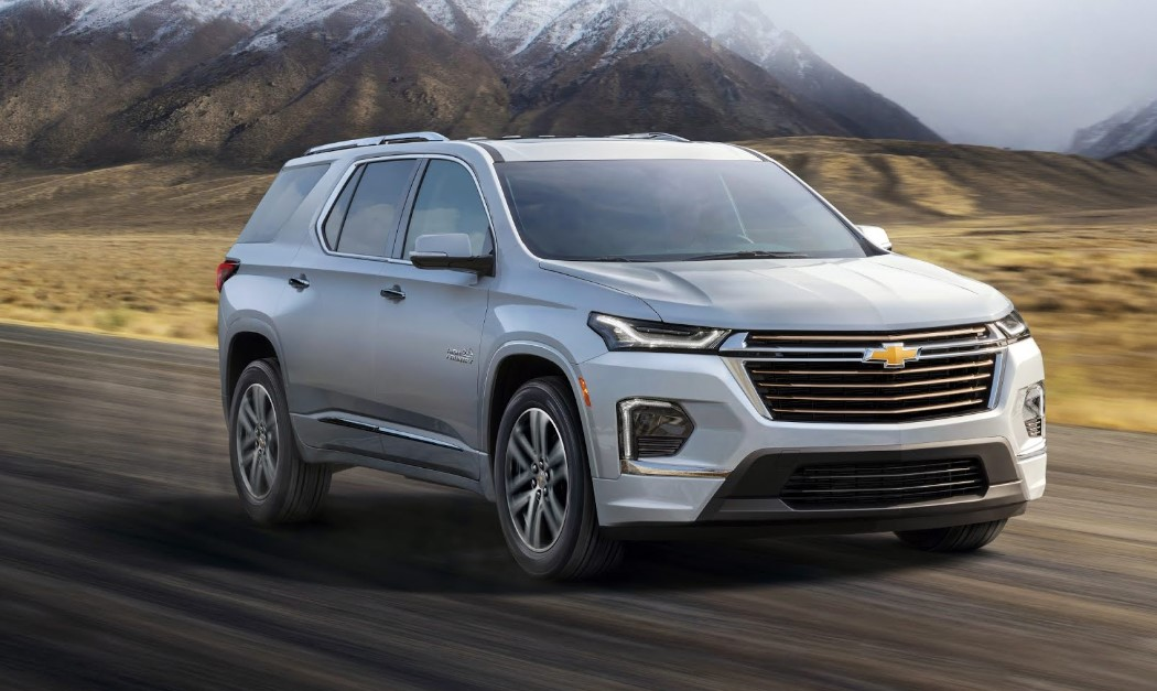 2021 Chevrolet Traverse Specifications