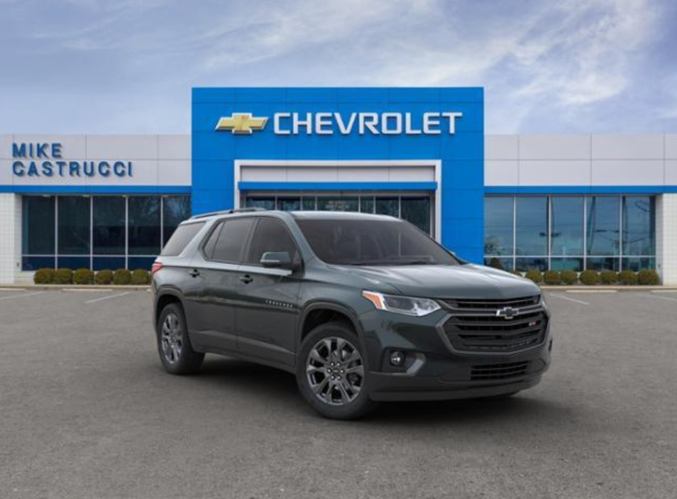 2022 Chevrolet Traverse RS Release Date
