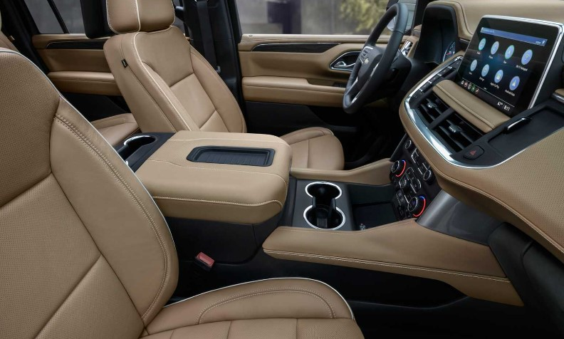 2022 Chevrolet Tahoe High Country Interior